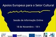 Apoios Europeus para o Setor Cultural